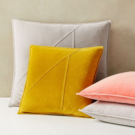 Washed Cotton Velvet Cushion Covers