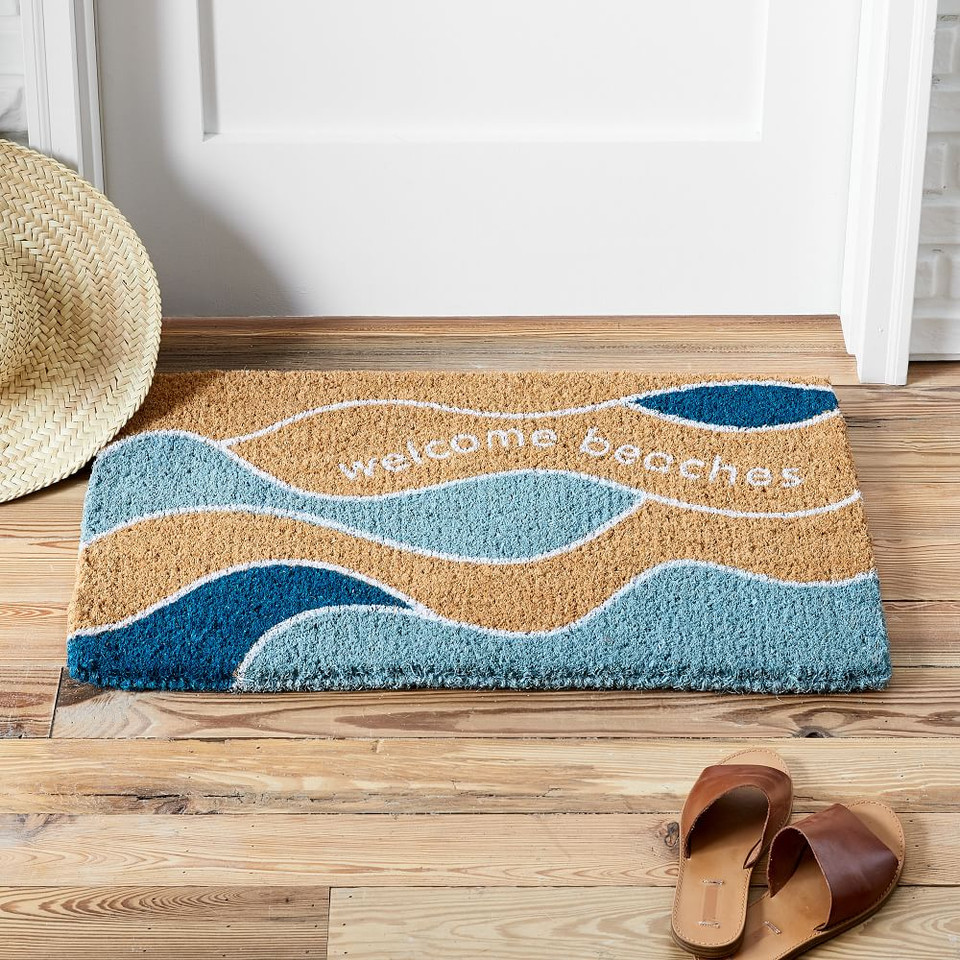 Welcome Beaches Doormat