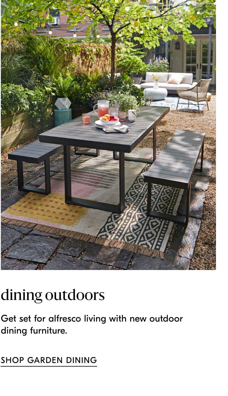 shop garden dining furniture